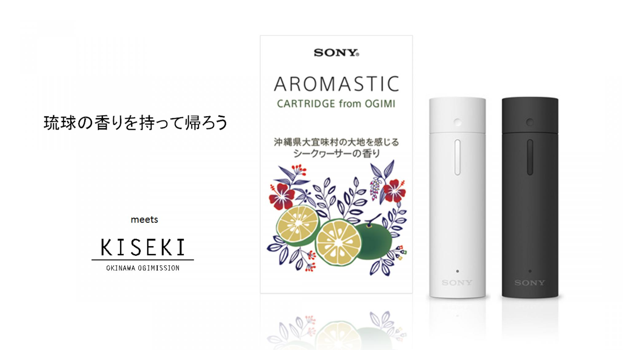 AROMASTIC & AROMASTIC CARTRIDGE from OGIMI セット